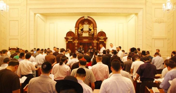 שיעור בישיבה הקדושה במנהטן