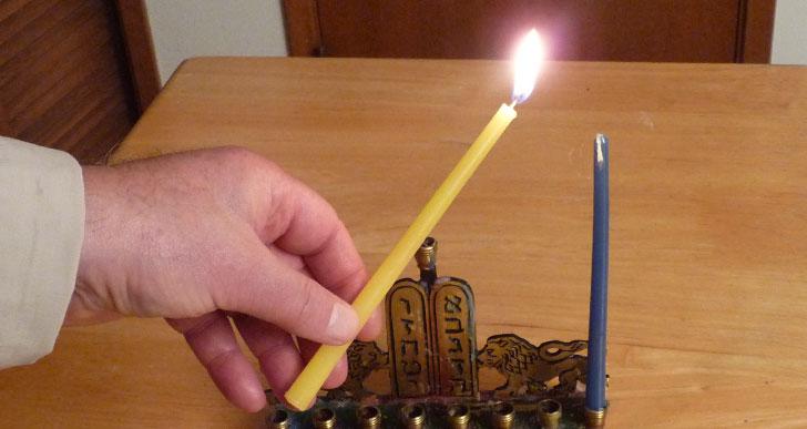 סדר הברכות וההדלקה