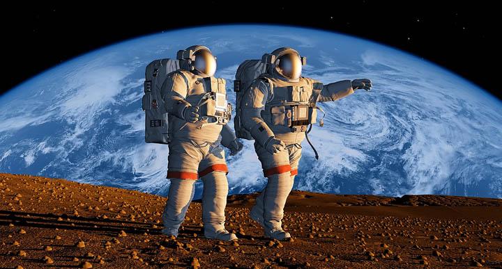 החיים בחלל